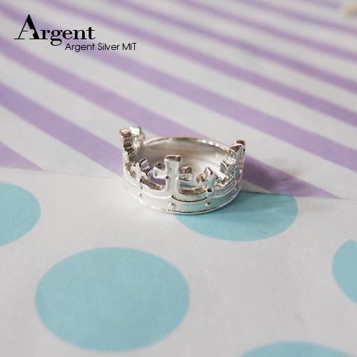 「國王」皇冠系列造型純銀戒指|戒指推薦