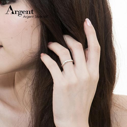 素雅(3mm)14k玫瑰金戒指推薦|k金戒指