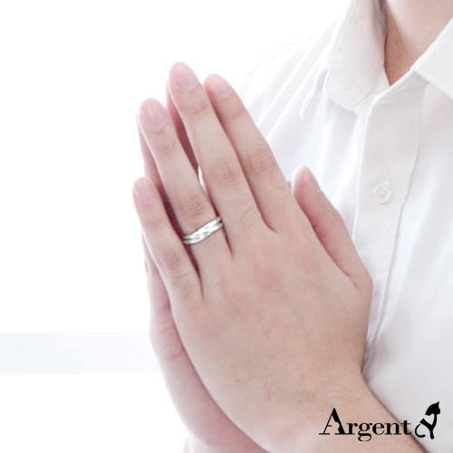 三環戒簡約設計造型純銀戒指|戒指推薦