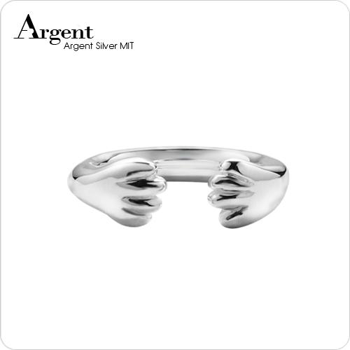 「貓爪」動物造型雕刻純銀戒指|戒指推薦