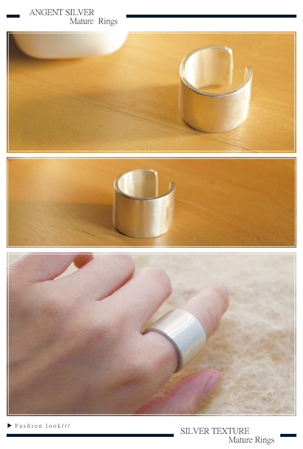 Oath wide and elegant silver ring | 925 silver ring recommended