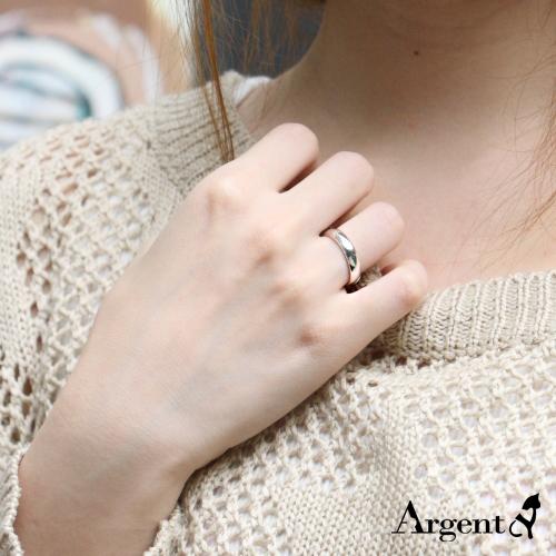 經典素雅純銀戒指|925銀飾戒指推薦