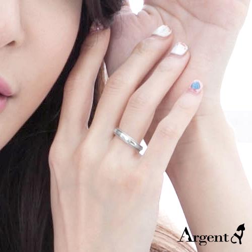 4mm浪漫滾珠純銀戒指|925銀飾戒指推薦