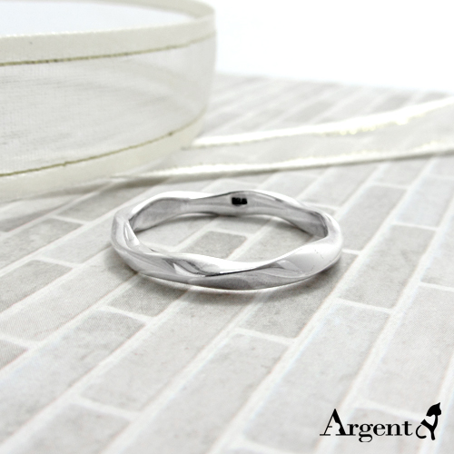 「炫愛」(男款/4mm)純銀戒指|925銀戒推薦2