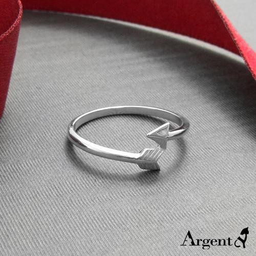 「箭羽」造型純銀戒指 925銀飾戒指推薦