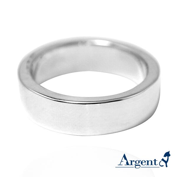 基本款簡約-6mm純銀戒指|925銀飾戒指推薦
