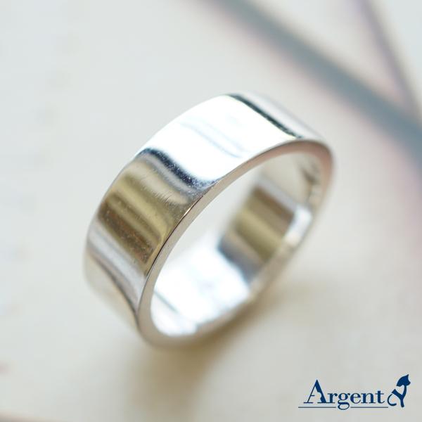 基本款簡約-8mm純銀戒指|925銀飾戒指推薦