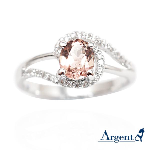 彩晶曲線-橄欖石天然寶石純銀戒指|戒指推薦