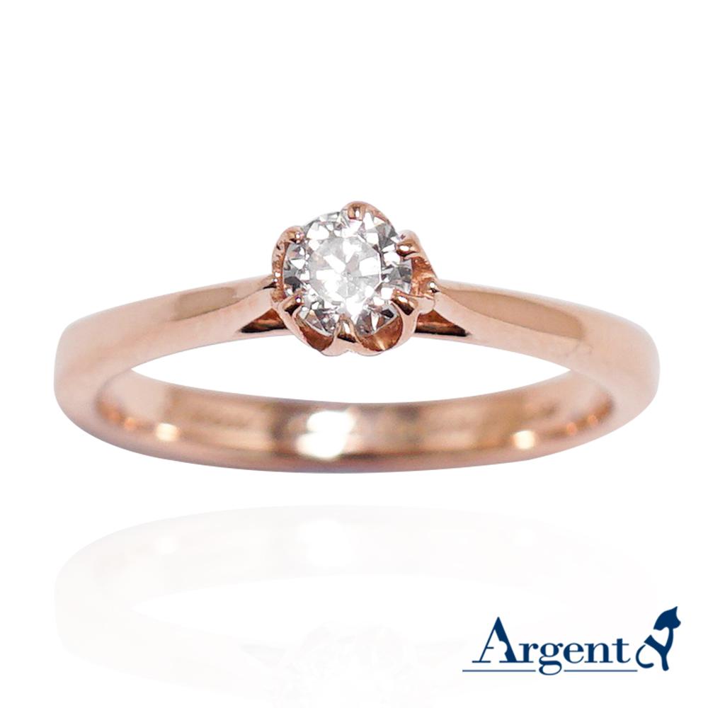 「花蕾」14K金真鑽戒指 戒指推薦